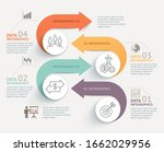 business infographics timeline... | Shutterstock .eps vector #1662029956