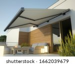Awning And House Terrace  3d...