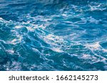 White Crest Of A Sea Wave....