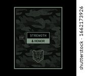 Army Typography  Tiger...