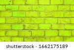 green grunge brick wall texture ... | Shutterstock . vector #1662175189