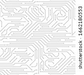 circuit board seamless. high...   Shutterstock .eps vector #1662180553