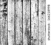 wooden planks overlay texture... | Shutterstock .eps vector #166218998