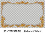royal golden vintage ornament... | Shutterstock .eps vector #1662224323