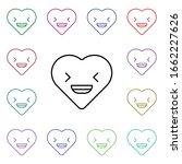 calm emoji multi color style...