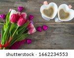 Romantic Spring Still Life With ...