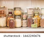 Shelf In The Kitchen With...