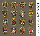 military army chevrons  us...   Shutterstock .eps vector #1662249439