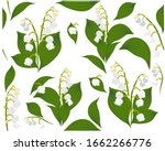 seamless pattern with flowers... | Shutterstock .eps vector #1662266776