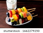 Fruit Kabobs With Poppy Seed...
