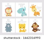 Set Of Animal Posters For...