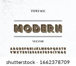 alphabet font.typeface.script... | Shutterstock .eps vector #1662378709
