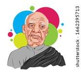 sardar patel vallabhbhai patel  ...   Shutterstock .eps vector #1662395713