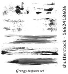 grungy hand made vector design... | Shutterstock .eps vector #1662418606