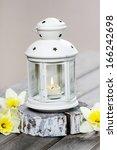 Beautiful White Lantern With...