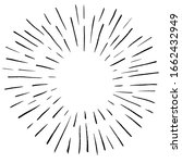 sunburst vintage vector... | Shutterstock .eps vector #1662432949