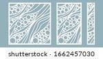 vector illustration. decorative ... | Shutterstock .eps vector #1662457030