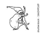 hand drawing cartoon character...   Shutterstock .eps vector #166249169