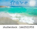 Beautiful Beach With Waves...