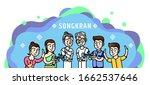 thai elderly day vector... | Shutterstock .eps vector #1662537646