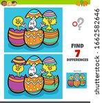 cartoon illustration of finding ... | Shutterstock .eps vector #1662582646