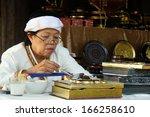 chiang mai thailand december7   ... | Shutterstock . vector #166258610