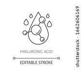 hyaluronic acid pixel perfect... | Shutterstock .eps vector #1662606169