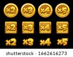 gold bonus numbers on squares...