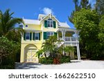 Large Yellow Beach House With...
