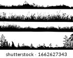 realistic black and white... | Shutterstock .eps vector #1662627343
