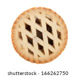 Isolated Image Of A Mince Pie...