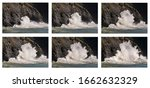 Progressive Sequence Of Images...