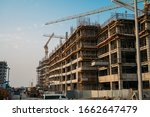 Modern Construction Site With...