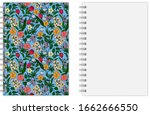 realistic vector image  layout  ... | Shutterstock .eps vector #1662666550