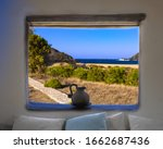 View Of Beach In Mykonos...