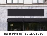 Blank Store Signage Sign Design ...