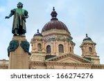 A Statue Of Christoper Columbu...