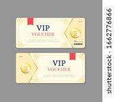 lined corner design coupon... | Shutterstock .eps vector #1662776866