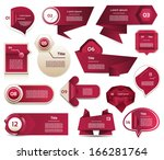 modern infographics options... | Shutterstock .eps vector #166281764