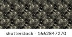 Black Pattern. Dirty Dyed Spra...