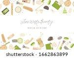 zero waste vector concept... | Shutterstock .eps vector #1662863899
