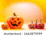 The Pumpkins Of Many Smile...