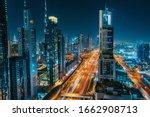 Panorama Of Dubai Downtown At...