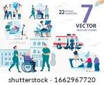 family doctor  ambulance... | Shutterstock .eps vector #1662967720