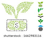 dotted mosaic based on eco... | Shutterstock .eps vector #1662983116