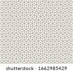 hexagon grid. vector seamless...   Shutterstock .eps vector #1662985429