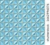 seamless blue volume 3d... | Shutterstock .eps vector #1662996076