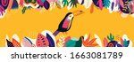 vector colorful illustration... | Shutterstock .eps vector #1663081789