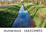 Drainage Ditch To Drain The...