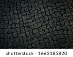 Brick Floor Made From Stone At...